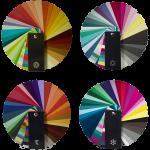 kleurenwaaiers kleuranalyse